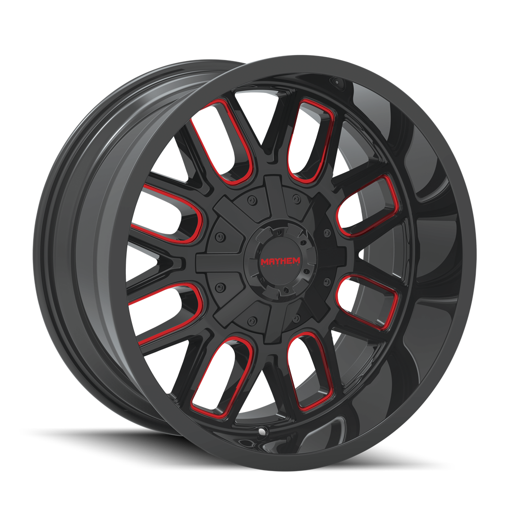 8107-2010-Gloss-Black-Milled-Spokes_Red1