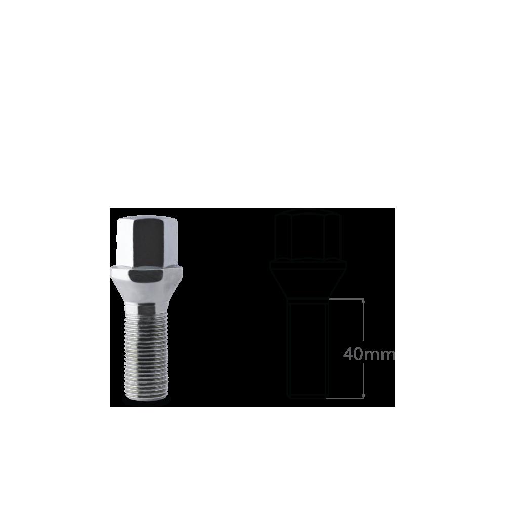 Lug_Bolt_Conical_Seat_Short_40mm