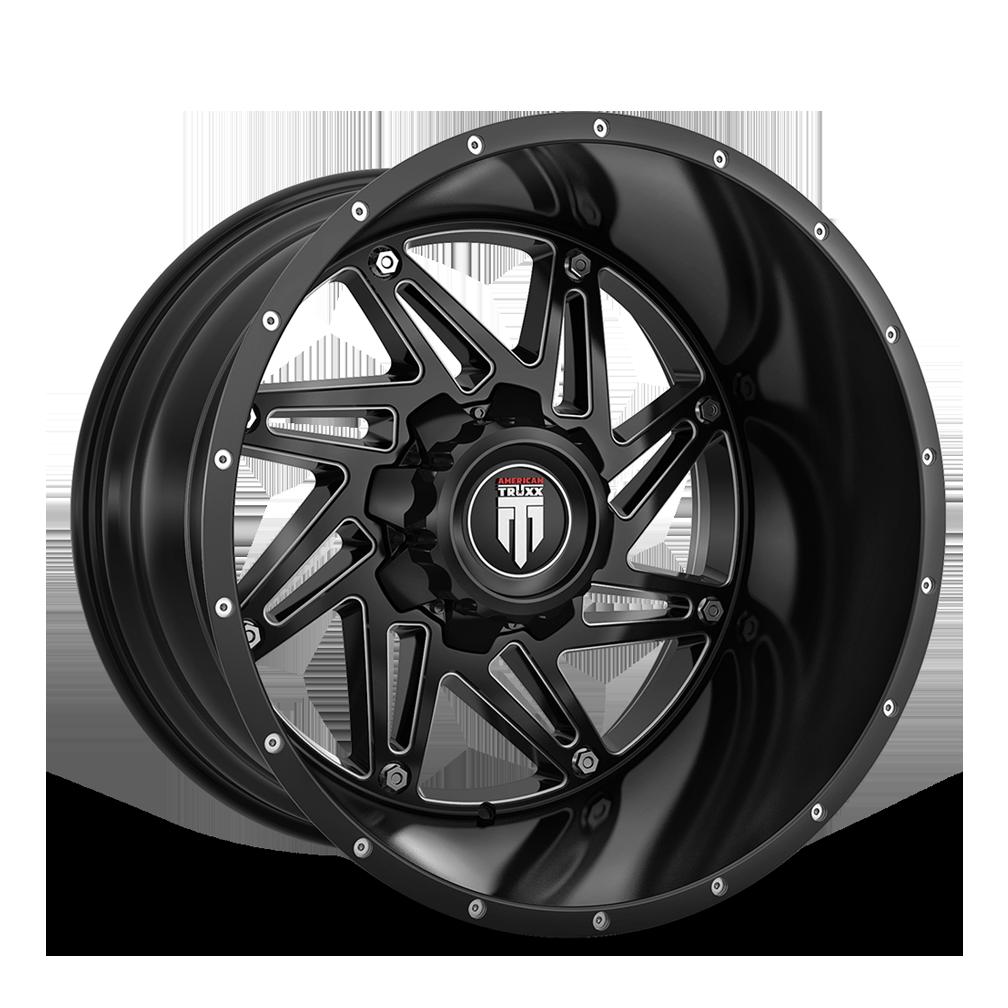165-WARRIOR-BLACK-MILLED